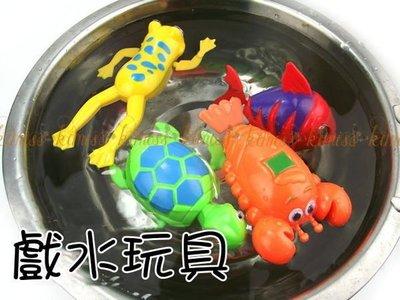 小號戲水洗澡 發條玩具上鏈玩具 不需電池 訓練 專注力 寶衣舖【TC092】