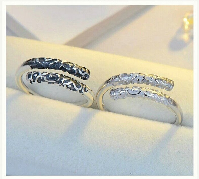【dear慧姐姐下標♥】純銀戒指 金箍棒 純銀指環 男女對戒  一路向北 訂製