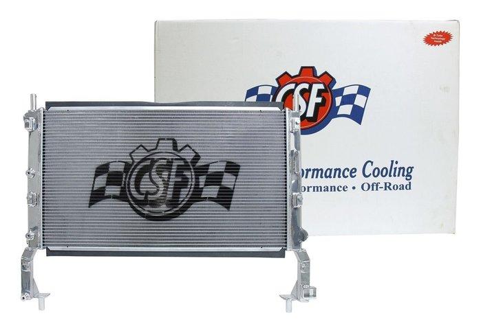 ☆光速改裝精品☆美國品牌 CSF FORD Mustang 鋁製水箱-現貨在庫