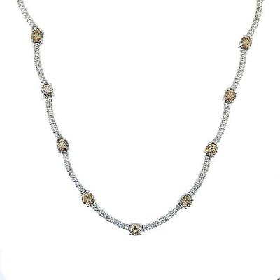 【JHT 金宏總珠寶/GIA鑽石專賣】8.00ct天然鑽石項鍊/材質:18K(JB42-A23)