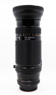 【台南橙市3C】Nikon AF 75-300mm F4.5-5.6 變焦望遠 # 51938