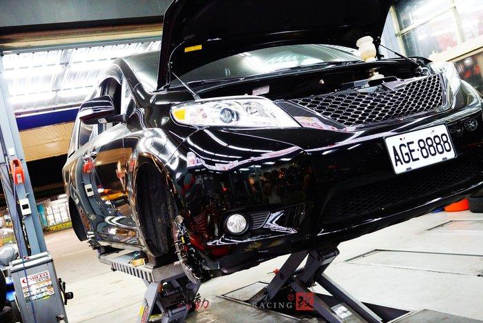 Toyota Sienna 專用 AP CP-9560 六活塞原裝盤380組 客製圖裝 VARRO鋁圈搭配 / 制動改