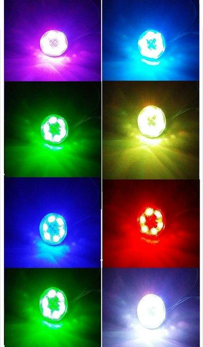 獨家發售  汽機車定位燈 方向燈 側燈 後檔泥板警示燈 後保險桿警示燈 風火輪旋轉 附遙控器 機車 汽車 電動車 皆適用