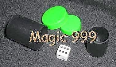 [MAGIC 999]衝評價-魔術道具-高級幻聽骰~非便宜骰子超醜大陸版~優惠39NT.