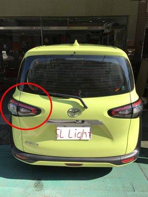 SL光電精品~Toyota Sienta 2016 2017 原廠 尊爵版 導光尾燈