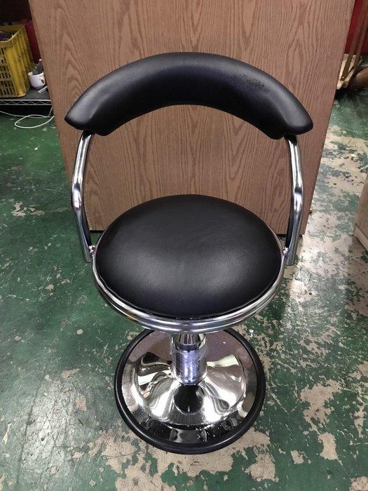 非凡二手家具 全新 貝勒電金圓盤吧檯椅*吧台椅*油壓椅*高腳椅*旋轉椅*休閒椅*餐椅
