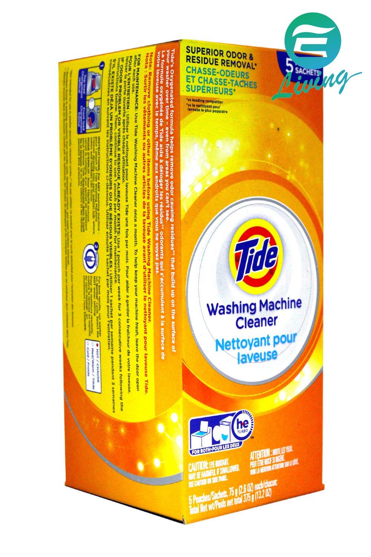 【易油網】TIDE 美國 五包入 洗衣槽清潔劑 (75g*5/盒) #85059