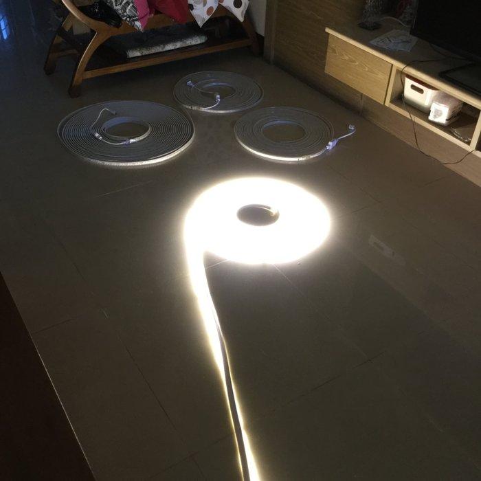 110V高壓燈帶露營防水燈條LED~紅~暖白~藍~粉紅粉紫~白光~裝潢~層板燈~戶外防水~