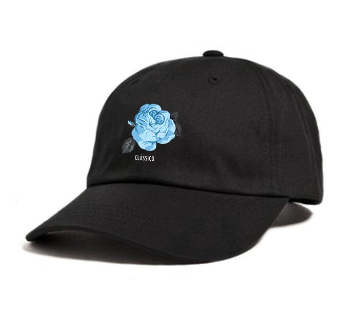【GIANT MALL】CLSC 2018S/S Suede Rose Dad Hat 老帽 玫瑰 刺繡 黑色/深藍色