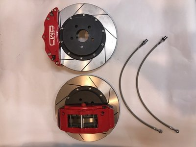 ☆光速改裝精品☆CWD 六活塞卡鉗 325㎜ 雙片碟 FORD TIERRA 附金屬油管