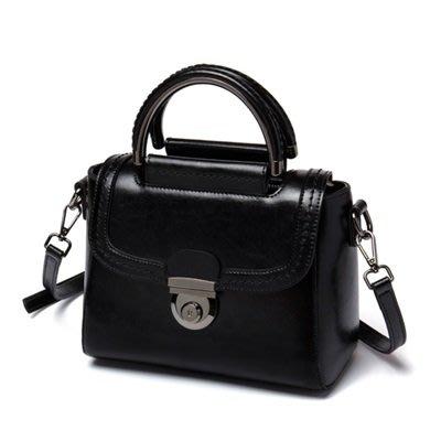 手提 包 真皮 肩背 包-日韓時尚優雅熱銷女包包2色73se12[獨家進口][米蘭精品]