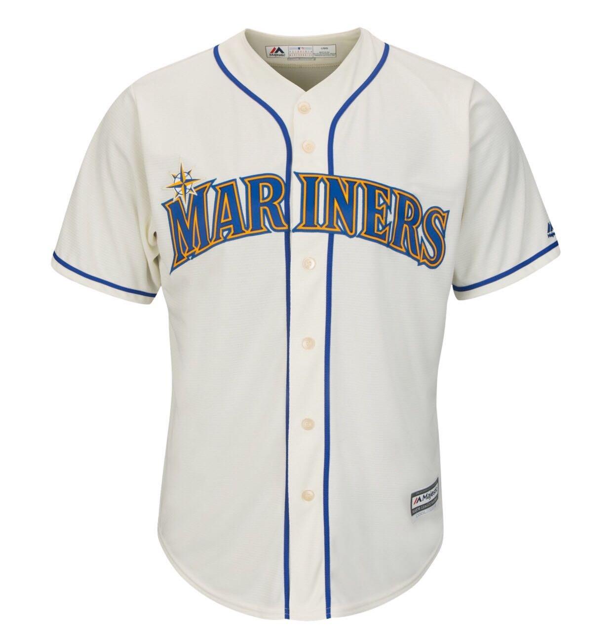 MLB 美國大聯盟 Majestic 正版球衣 西雅圖 水手隊 Mariners 棒球衣