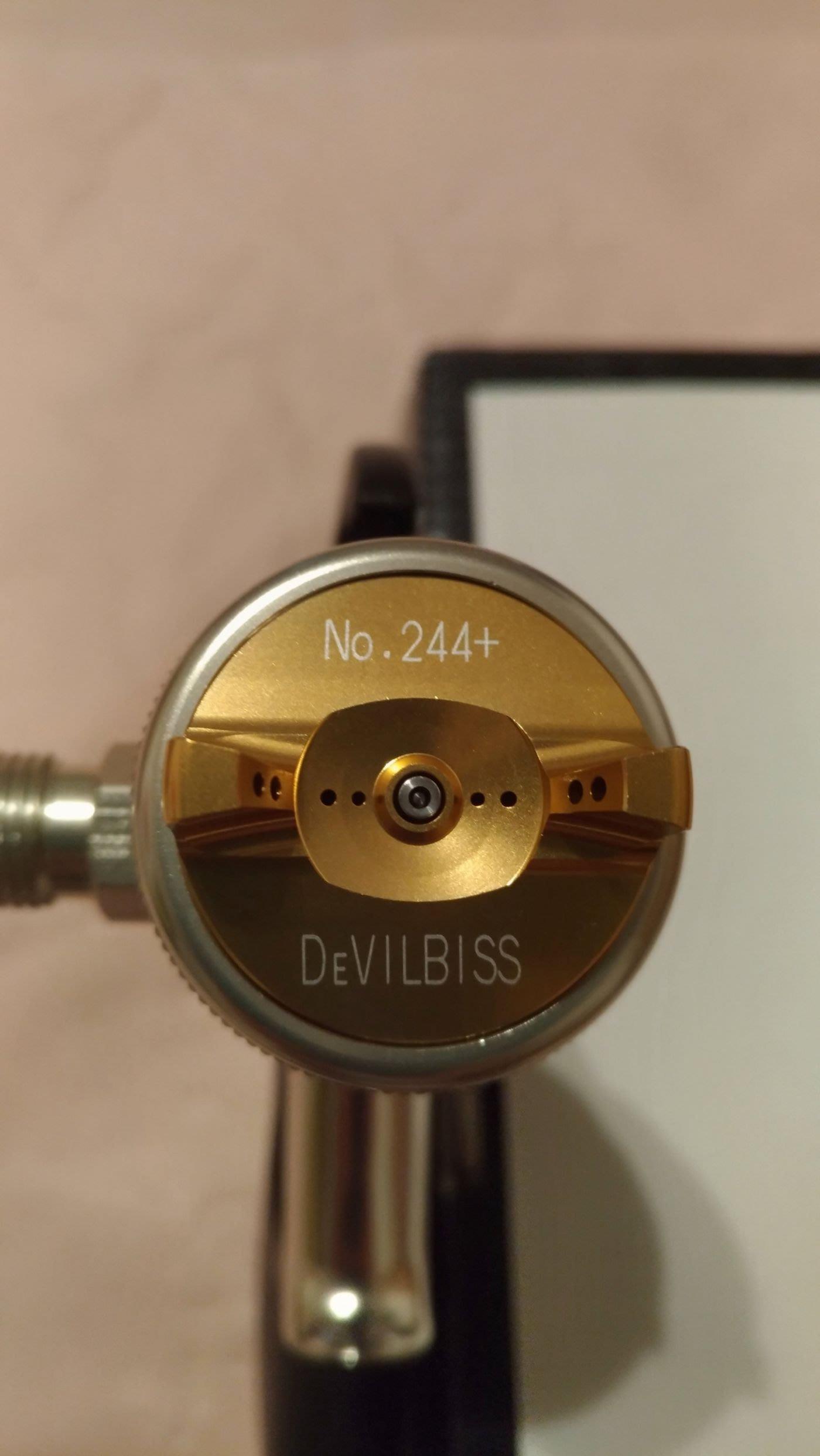 Devilbiss Luna-244鎂合金   日本製噴槍