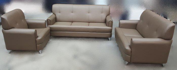 台中二手家具買賣推薦台中樂居全新中古傢俱 OZ703AJD*全新海松色123皮沙發 客廳桌椅*新竹滿千送百 豐富商品喜悅
