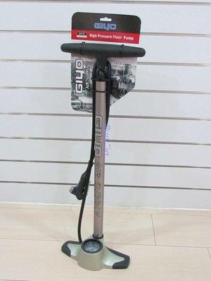 【瘋拜客】GIYO GF-12 直立式 超高壓打氣筒260psi 鋁合金6063 聰明嘴 附壓力錶 GF12