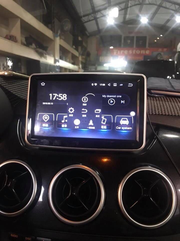 賓士 BCar GLA CLA W176 w246 B200 A180 B180 Android 安卓版 專用機觸控螢幕