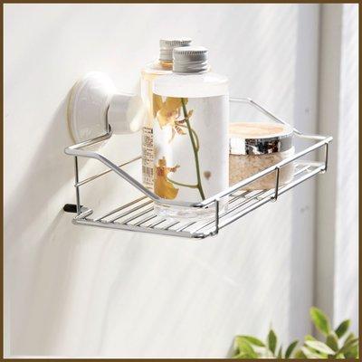 浴室/廚房/臥室【居家大師】BRF15 Taco無痕吸盤系列-吸盤萬用置物架/收納架