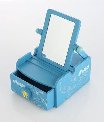精緻木質金絲雀鏡盒 T0085