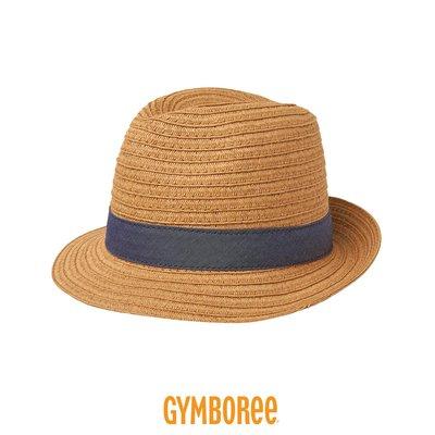 現貨!滿699免運 ✓ 美國進口 ✈ Gymboree 健寶園・兒童帽 編織草帽 遮陽帽 防曬帽 紳士帽 -夏日丹寧