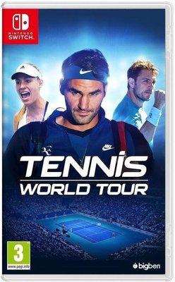 【全新未拆】任天堂 Nintendo Switch NS 網球世界巡迴賽 Tennis 中英文合版【台中恐龍電玩】