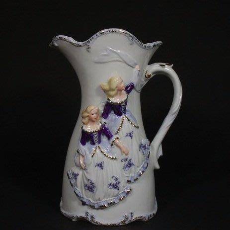 義大利精品陶瓷 少女水瓶1996~幸子老鋪