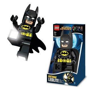 現貨【LEGO 樂高 】全新正品/ 蝙蝠俠LED手電筒 DC英雄聯盟 黑暗騎士 Batman 人偶公仔 高約20公分