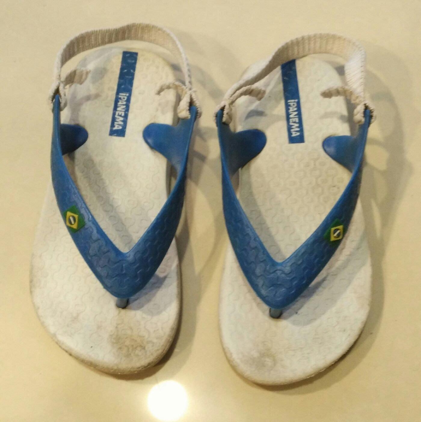 巴西 iPANEMA 幼童沙灘鞋 人字拖 US 8