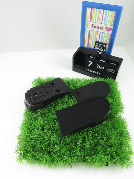 【iSport愛運動】♤ Shucare ♤ 澳洲品牌 輕盈氣墊增高半墊 5CM 兩截式 內增高鞋墊 T812