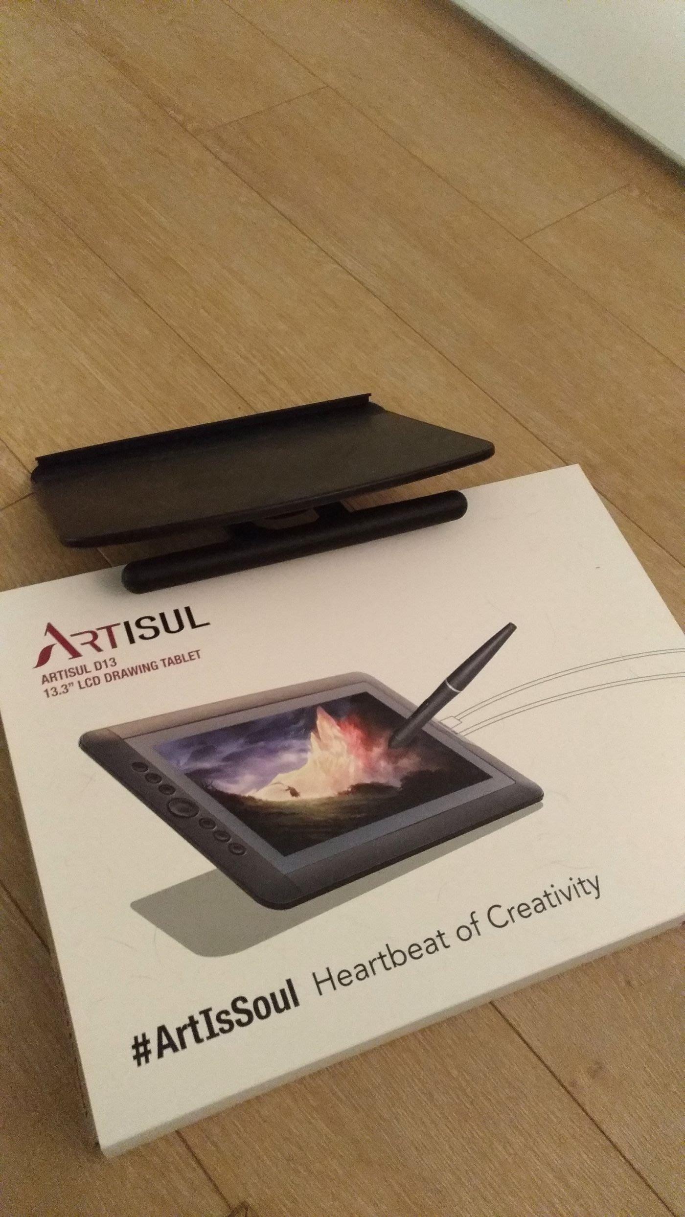 ARTISUL D13 液晶感壓繪圖板/手寫繪圖螢幕(含支架)