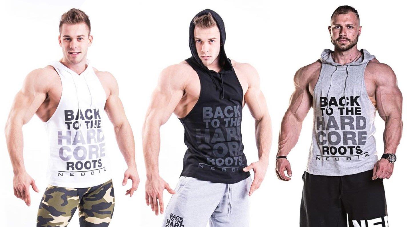 大碼 M-3XL BACK 男士 連帽背心 休閒 運動 健身 黑.灰.白三色-現貨供應((焦點服飾))