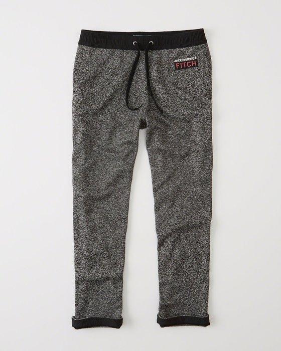 【天普小棧】Abercrombie&Fitch A&F Logo Classic Sweatpants運動長褲棉褲M