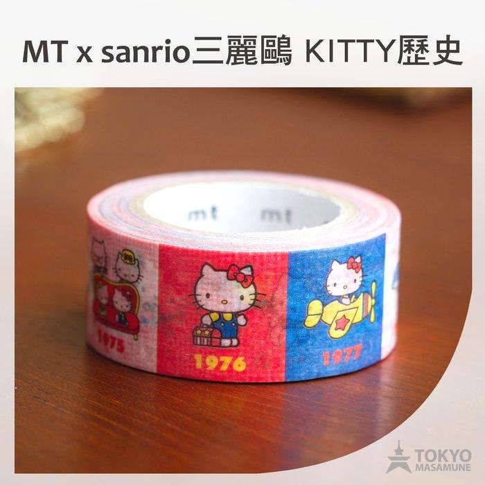 【東京正宗】日本 mt masking tape 紙膠帶 mt x sanrio 三麗鷗 聯名 限定 KITTY 歷史款