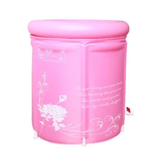 o江東購物站o摺疊式加厚版/不怕破 SPA浴桶 泡澡桶 活動浴缸 充氣浴缸 附排水管 可收納