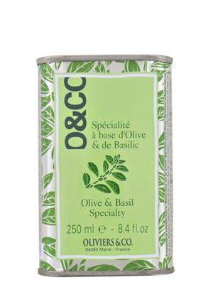代購 Oliviers & CO 義大利羅勒橄欖油250ml,義大利Puglia製造。
