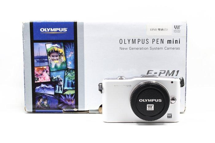 【高雄青蘋果】OLYMPUS PEN MINI E-PM1 單機身 微單眼 二手相機 #15021