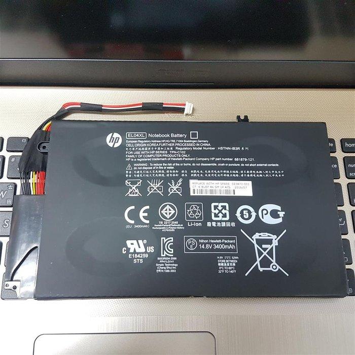 HP EL04XL 4芯 原廠電池 ENVY 4 4-1000SG 4-1000SN 4-1001TX 4-1001