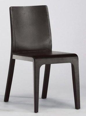 【DH】貨號G452-5《馬倫》黑餐椅/休閒椅/造型椅/單人椅˙沉穩設計˙質感一流˙主要地區免運