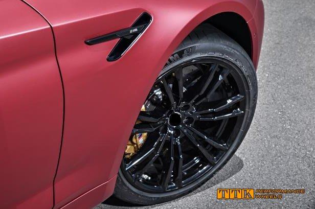 類BMW G30 M5 2018 新款 M-power 選配式樣 19吋 5孔120 前後配 8.5J+9.5J 黑色