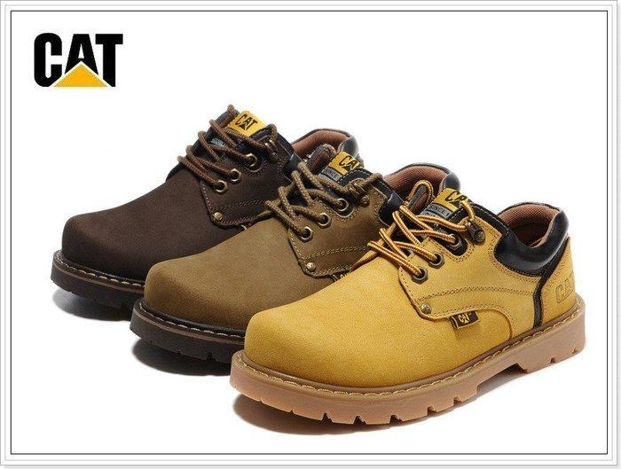 『黑餃ㄇㄇ』【CR030】斷碼特賣 古著戶外靴 磨砂皮 中筒靴 男女款Timberland CAT