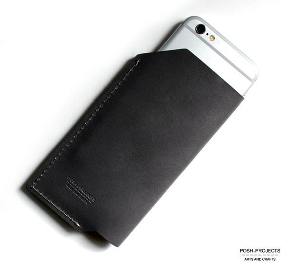 GOODFORIT / 南韓設計廠牌POSH-PROJECTS 502義大利手工皮革手機保護套6/6S
