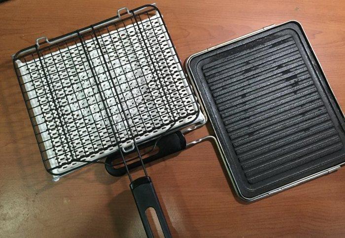 在家烤肉-陶瓷炭烤盤+日式陶瓷燒烤網=燒烤無敵組