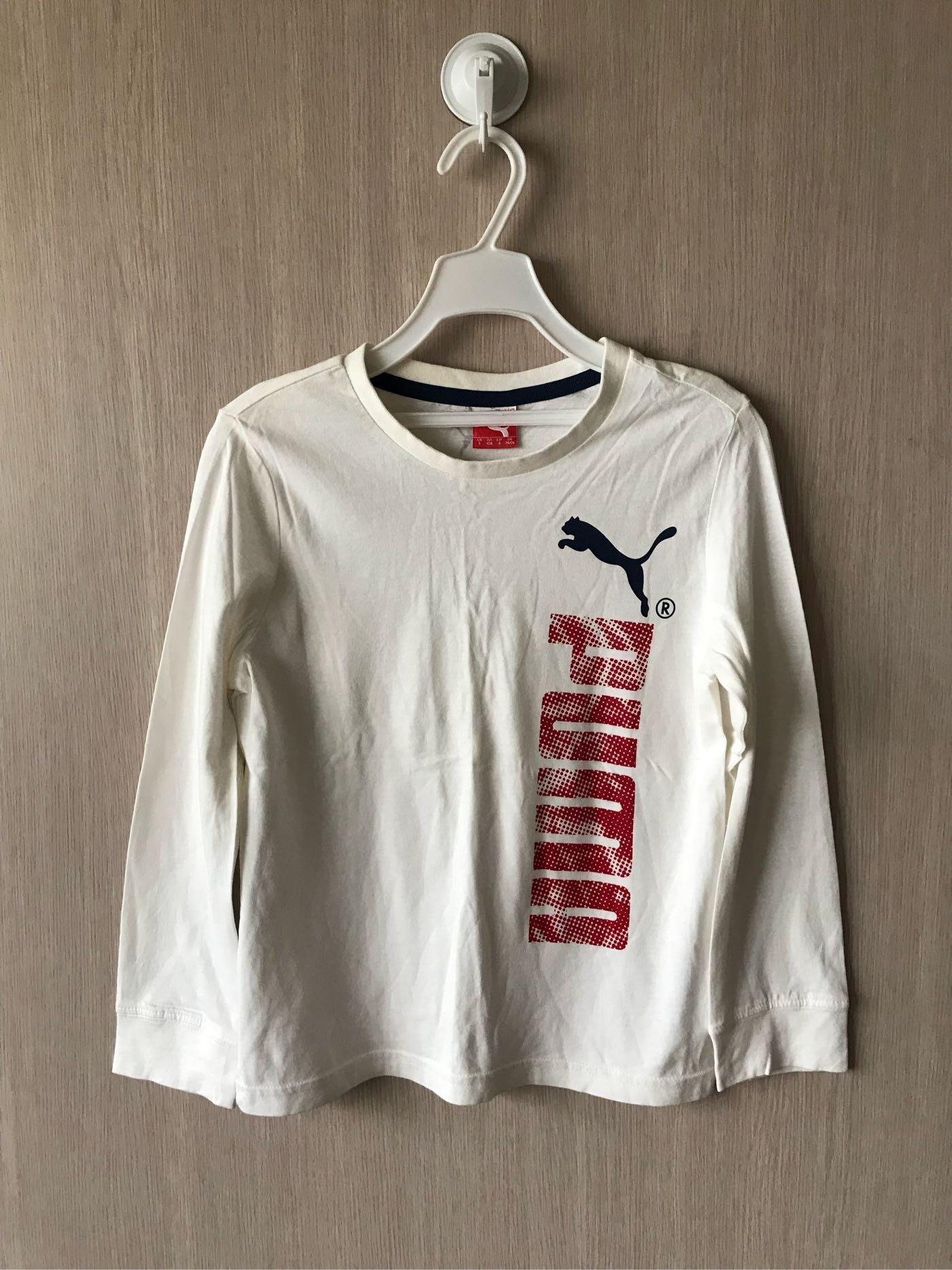 Puma 白色薄T