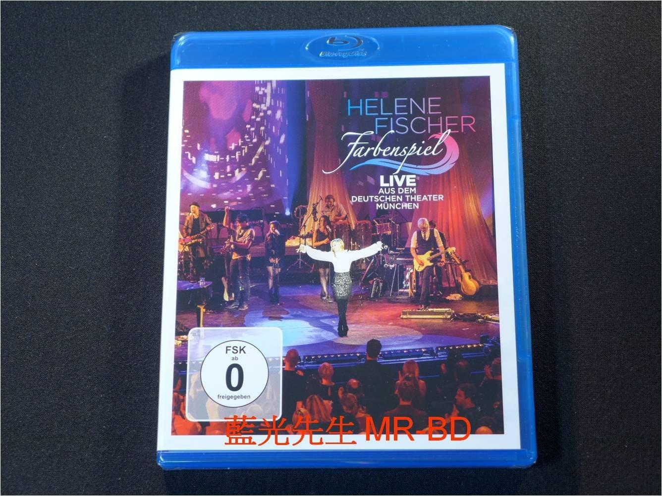 [藍光BD] - 海倫費莎 : 慕尼黑現場演唱會 Helene Fischer : Farbensoiel BD-50G
