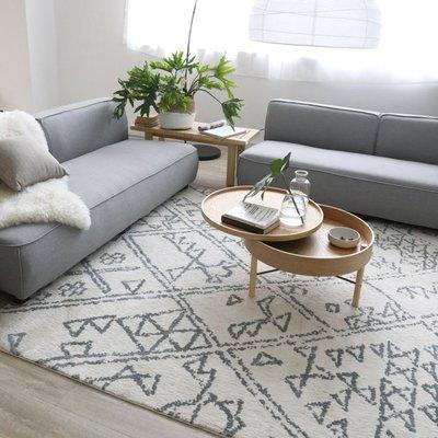 【Uluru】Minimalism140x200 條毯 地毯 客廳 臥室 Loft 北歐風 工業風 zakka 無印良品