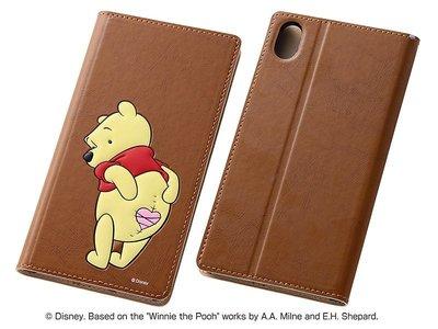 尼德斯Nydus~* 日本 迪士尼 小熊維尼 Winne the Pooh 皮套 翻頁式 手機殼 Sony Z3+ Z4