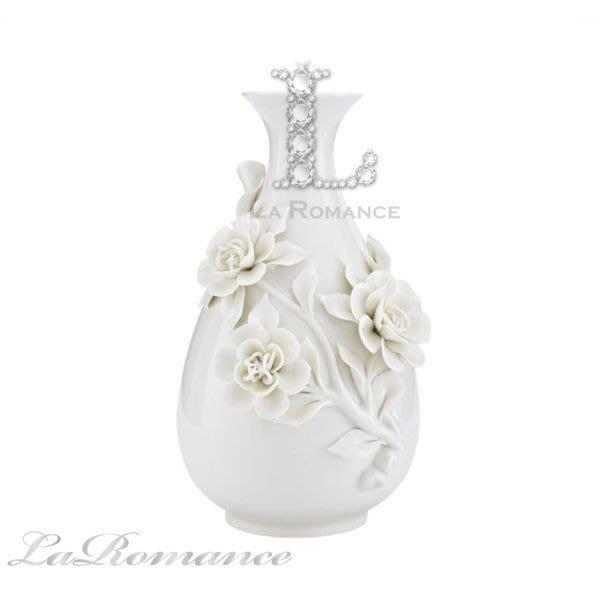 【芮洛蔓 La Romance】帝凡內系列馨戀優雅立體玫瑰花器 / 花瓶