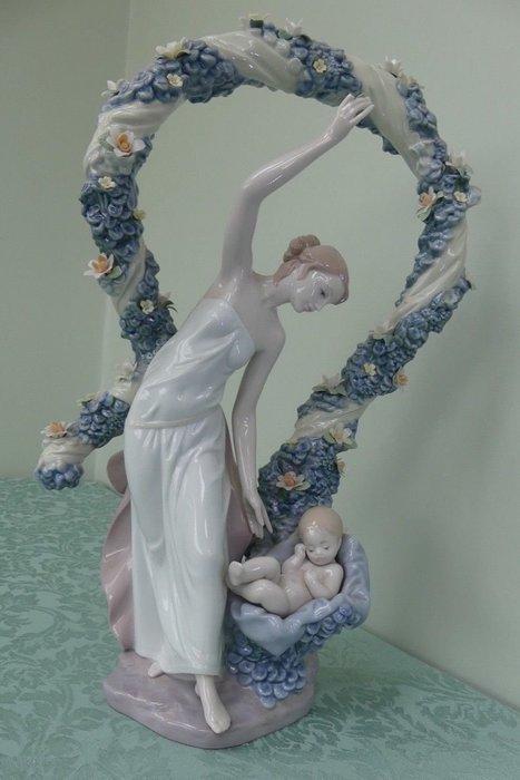 (特價品) LLADRO 世紀新生 1999年, 高42cm 西班牙雅緻瓷偶 Lladró (另麥森哥本哈根施華洛世奇)