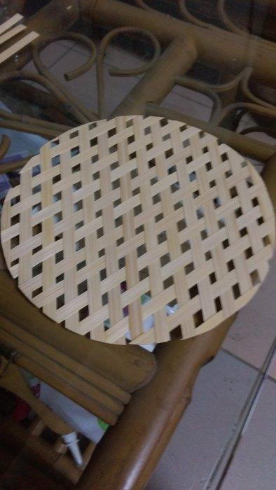 竹還真竹藝館--平面竹篾竹編圓(過瀘製作蒜頭)直徑19~21CM