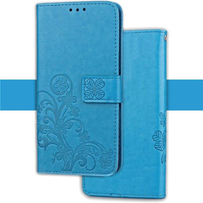 華碩 Zenfone 5 5z ZE620KL ZS620KL手機殼 軟翻蓋皮套 四葉草 零錢包皮套 保護套 全包軟殼