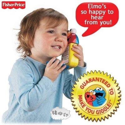 °✿豬腳印玩具出租✿°Fisher-Price 費雪原裝得獎電話 我的艾莫 (1)~即可租
